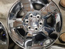 "18"" FACTORY CHEVY 6 LUG WHEELS ONLY. in Fort Polk, Louisiana"