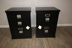 Pottery Barn Black Filling Cabinets (2) in Kingwood, Texas