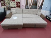 Model Treviso II Sectional Sofa with Bed Special Clearance Sale! in Ramstein, Germany