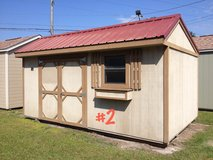 PREOWNED 10x16 Garden Shed Storage Building in Moody AFB, Georgia