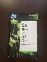 NEW-HP 56 BLACK & 57 TRI-COLOR Ink Cartridge C9321FN Combo-pack in Bolingbrook, Illinois