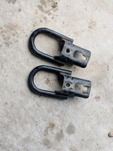 Tow hooks in Fort Drum, New York