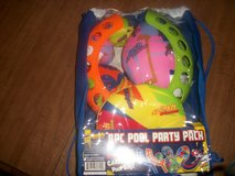 Three sets of 8 Piece Pool party packs  New in Warner Robins, Georgia