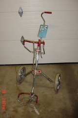 All metal lightweight 2 wheel golf cart in Glendale Heights, Illinois