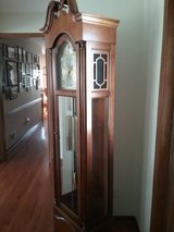 Solid Cherry Howard Franklin Grandfather Clock in Morris, Illinois