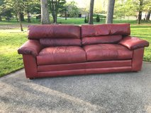 Emerson Leather Couch in Fort Campbell, Kentucky