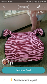 Harmony booster seat in Wilmington, North Carolina