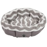 Snoozzy Precision Pet SNZ HZZ Shearling Round Bed in Aurora, Illinois