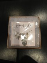 Brand New in Box--Saltwater Heals Everything Stainless Steel & Sterling Necklace in Stuttgart, GE