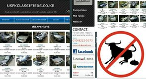 USFKclassifieds.co.kr - warrantied cars from $1200 incl. USFK inspection in Osan AB, South Korea