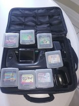 Sega Game Gear System with Bag & 7 Games in Conroe, Texas
