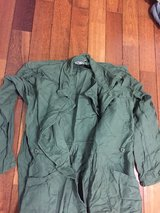 Coveralls green. size M and L in Okinawa, Japan