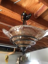 Rubbed Bronze Dining Room Light in Elgin, Illinois