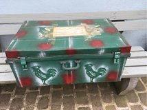 big vintage Iron case box from France shabby chic in Ramstein, Germany