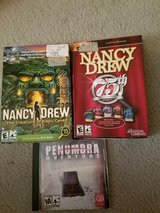 3 OLD PC GAMES in Fort Campbell, Kentucky
