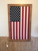 Handcrafted 3' x 5' Framed American Flag in Tacoma, Washington