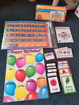Preschool calendar kit w/Many xtras in Camp Pendleton, California
