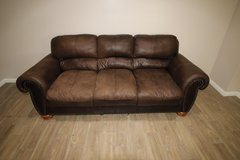 Brown Sofa Polyester fabric in Spring, Texas