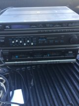 old duel cassette player and stereo in Travis AFB, California