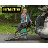 Pet Gear Tri-Fold Ramp, Supports up to 200lbs, 71 in. Long, Patented Compact Easy-Fold Design, T... in Lockport, Illinois