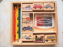 Melissa and Doug vehicle stamp set in Stuttgart, GE