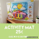 Activity mat in Ramstein, Germany