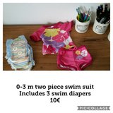 0-3 swimsuit and swim diapers in Ramstein, Germany