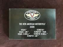 Victory Vegas/Kingpin Owners Manual 2009 in Fort Rucker, Alabama