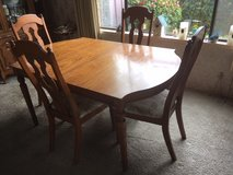 Antique Dinning Room Table and Chairs *** VERY GOOD CONDITION in Tacoma, Washington