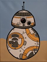 BB-8 Hand Painted in Camp Pendleton, California