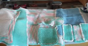 hand made blankets and burp cloths in 29 Palms, California