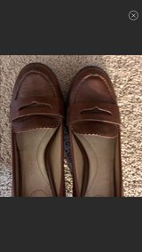 Women's Lands End Brown Leather Heels, Great Condition, Size 9 in Hampton, Virginia