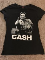 Like New Women's Slim Fit Johnny Cash T-shirt Size Large in Hampton, Virginia