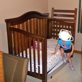 4-in-1 Crib/Toddler/Day/Full Size Bed in Naperville, Illinois