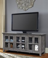 "BRAND NEW! DESIGNER QUALITY SOLID WOOD 70"" SHABBY CHIC TV STAND in Camp Pendleton, California"