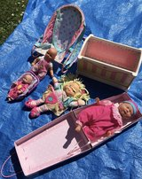 Mixed dolls bundle with accessories in Lakenheath, UK