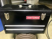 Craftsman 3 drawer (deep top) with lockable clasp with over 75 hand tools included in Okinawa, Japan