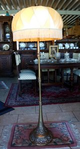 floor lamp with lamp shade in Spangdahlem, Germany