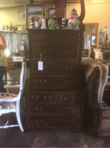 Antique true chest on chest dresser in Spring, Texas