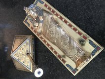"Vintage Franklin Mint Limited Edition ""The Treasures of Tutankhamun"" Card Box and Pen Set in Baytown, Texas"