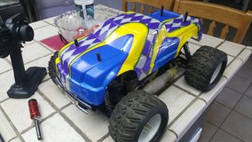 Nitro monster truck rc in Yucca Valley, California