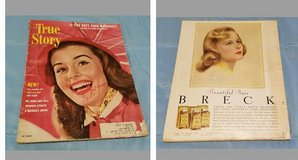 1952 True Story Magazines in Fort Riley, Kansas