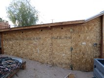 outdoor double side shed 8' x 20' in Yucca Valley, California