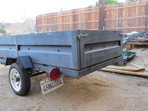 """4' x 8' Licensed Utility Trailer with 18"""" sides in Yucca Valley, California"""