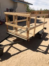 4x8 Two Wheel Trailer. Fully refurbished and ready to haul! Make an offer! in 29 Palms, California