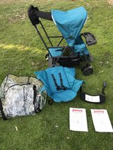 Joovy Caboose Ultralight Double Stroller (with additional accessories) in Camp Pendleton, California