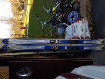 K2 Escape 174 cm skis and marker bindings. In good condition. Asking $50 obo in Glendale Heights, Illinois
