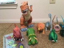 Dinosaurs and Dragons in Cleveland, Texas