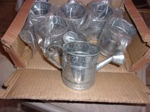 """36  HOSLEY GALVANIZED MINI WATERING CANS .. 2 5/8"""" Tall...Local Pickup In Elizabethtown.. . in Fort Knox, Kentucky"""