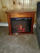electric fireplace in Fort Drum, New York